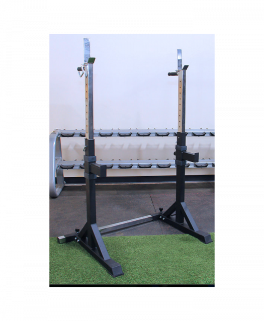 Strencor Adjustable Squat Rack w/ Safety Arms