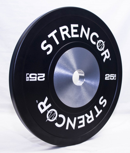 Black Competition Bumper Plates (pair)