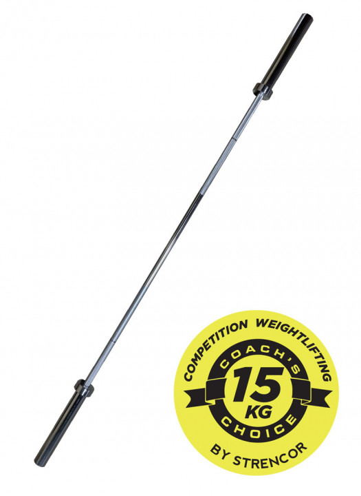 Strencor Coach's Choice Competition Weightlifting Bar - 15kg